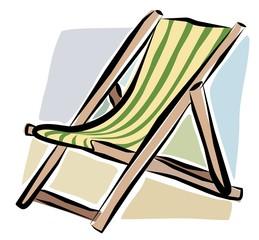 sketchy deckchair