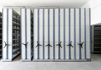Automated shelving systems