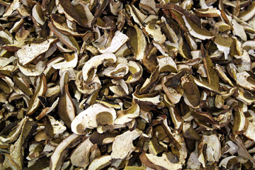 Dried scliced mushroom
