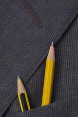 matite nel taschino