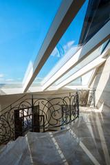 Skylight modern home interior