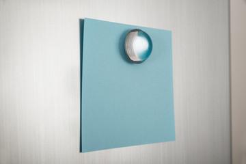 Blue Note On Fridge