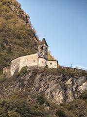church tirano on a rock
