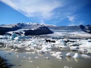 Icelandic Glacial Lake