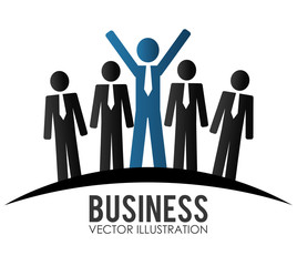 Business design, vector illustration.