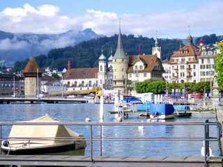 lucerne lake and castle
