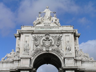 Arco triunfal da Rua Augusta, Lisboa