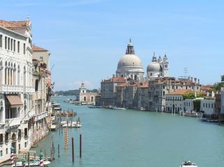 Panoramica del Gran Canal de Venecia