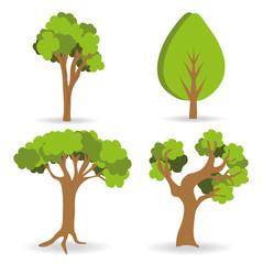 Forest design, vector illustration.