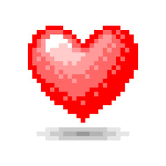 Heart pixel concept
