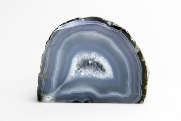 gray-blue agate