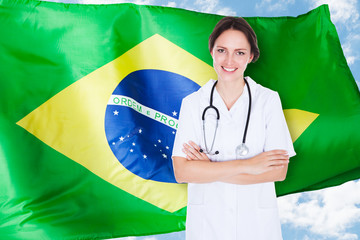 Brazilian Female Doctor