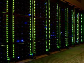 Supercomputer by night