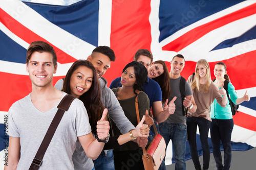 Leinwanddruck Bild English Classes