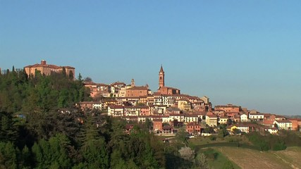 Govone Piemonte italia
