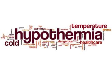 Hypothermia word cloud