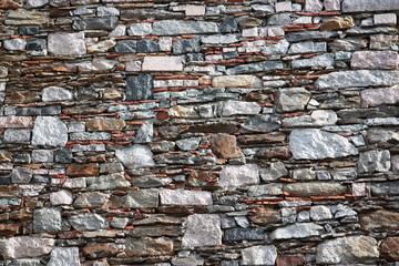 Natursteinmauer - Mauer - Italien