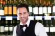 Happy Male Bartender