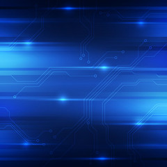 Abstract digital technology concept background, vector