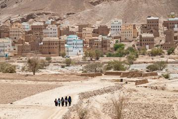 Landscape in Yemen