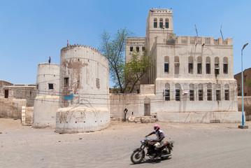 Traditional house in Yemen
