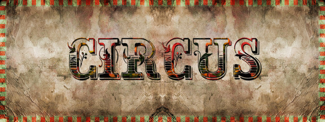 Grungy illustration for funfair,carnival, circus etc