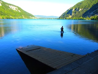 Lac de Nantua, Ain