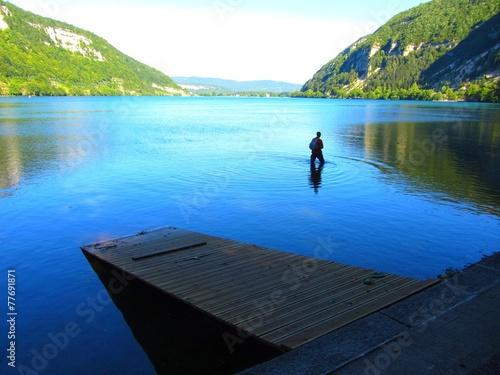 Papiers peints Alpes Lac de Nantua, Ain