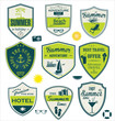 Summer travel badges