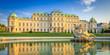 Leinwandbild Motiv Schloss Belvedere #4, Wien