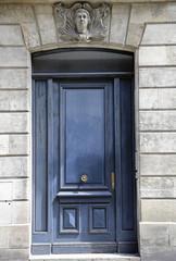 Französische alte Tür