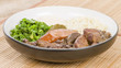 Feijoada - Brazilian beef, sausage, pork and black bean stew