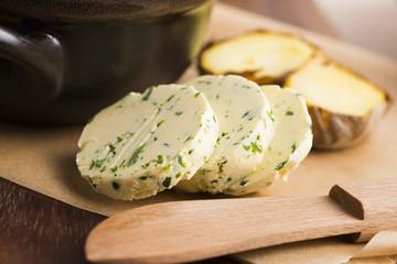 herbs butter