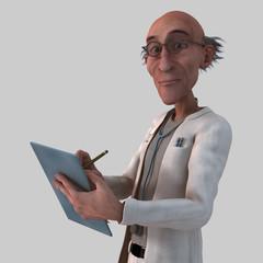 Old Cartoon Doctor