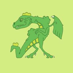 Tyrannosaurus / Vector illustration