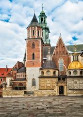 Wawel castle in a Cracow