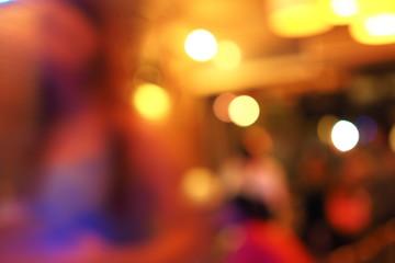 bokeh blur background in coffee cafe shop