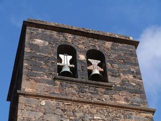 The church of La Oliva on Fuerteventura in Spain
