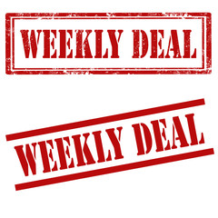 Weekly Deal-stamps