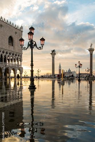 Plexiglas Venetie Venezia piazza san Marco 3990