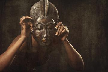 masque africain danse