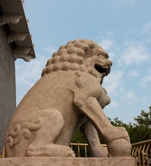 Stone Lion, Symbol of Power