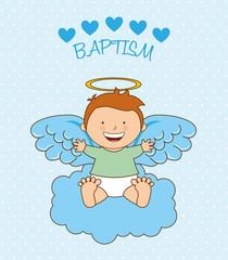 baptism angel design