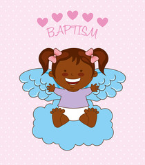 baptism angel design