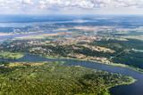 Naklejka Aerial View