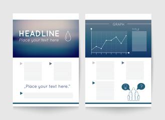 Flyer, brochure template