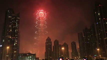 New Year 2015 fireworks display