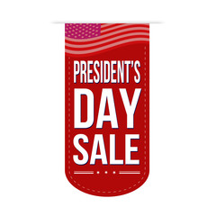 Presidents Day sale banner design