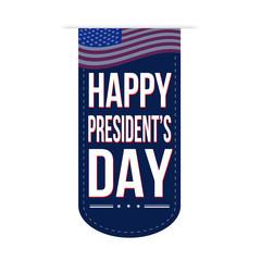 Happy Presidents Day banner design