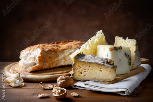 Poster, Tablou Various cheese